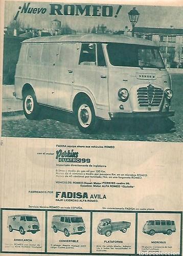 publicitat furgoneta Romeo A