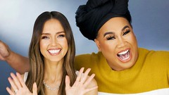 Jessica Alba Upload Make-up Video With Patrick Starrr to YouTube Channel