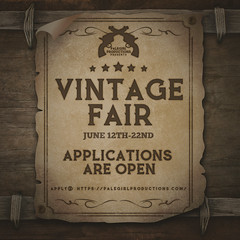 Vintage Fair 2020 - Applications are Open