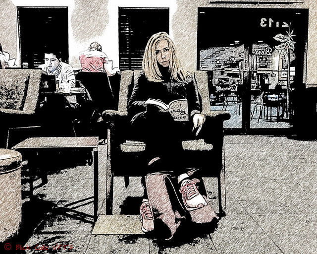 Eat Pray Love - SketchMe! effect