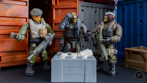 """So wait... These are 'essentials' were guarding?"" ""It does seem a bit excessive to deploy paramilitary troops for toilet paper."" 