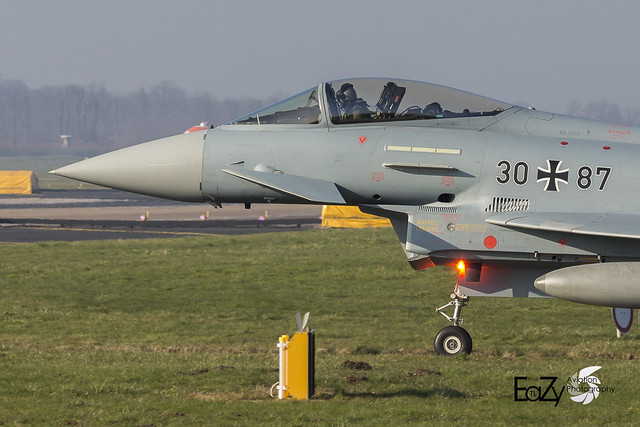 30+87 German Air Force (Luftwaffe) Eurofighter Typhoon