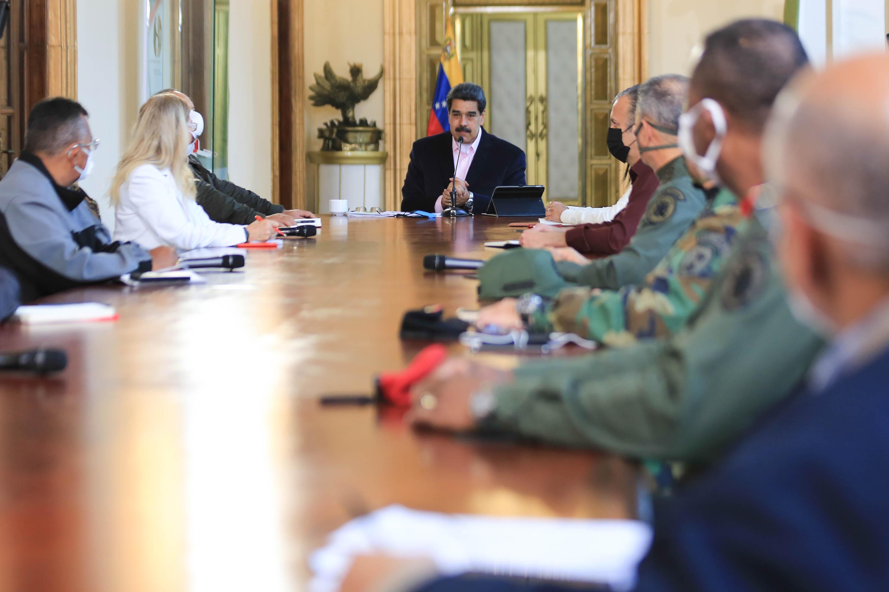 Presidente Maduro: Estoy dispuesto a hablar con el que haya que hablar para hacer frente al Covid-19