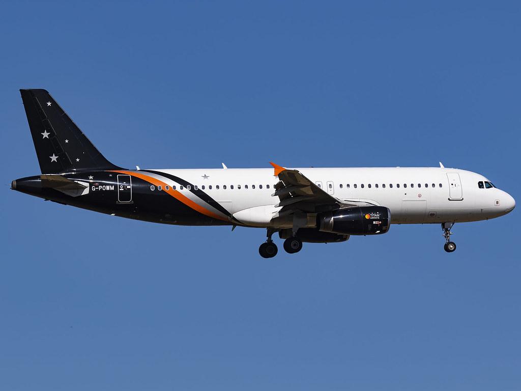 Titan Airways | Airbus A320-232 | G-POWM