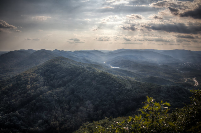 View from Cumberland Gap