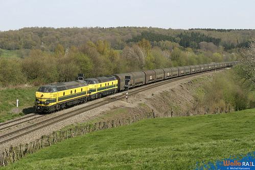 5503+5521. SNCB . Gemmenich . 17.04.04.