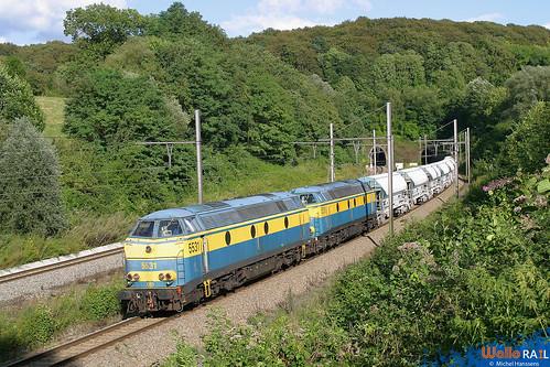 5531+5519 . SNCB . Veurs 19.08.04.
