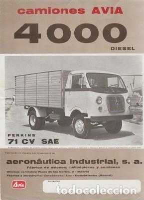 camió Avia 4000