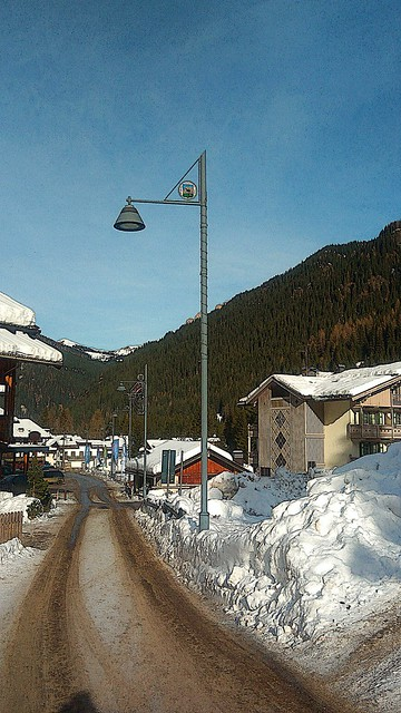 Strada di Villaggio - Skipass Ciampac