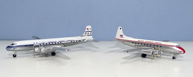 Pan Am Douglas DC-6B & BEA Vickers Viscount 700