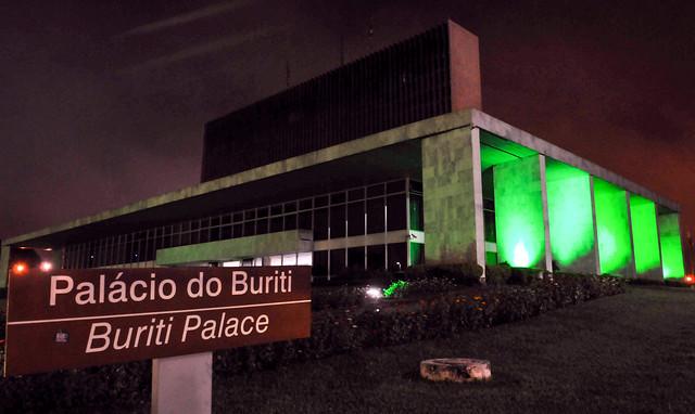 Palácio do Buriti homenageia profissionais de Saúde