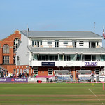 The Andy Caddick Pavilion, Somerset v Middlesex, Cooper Associates County Ground, Taunton, Somerset