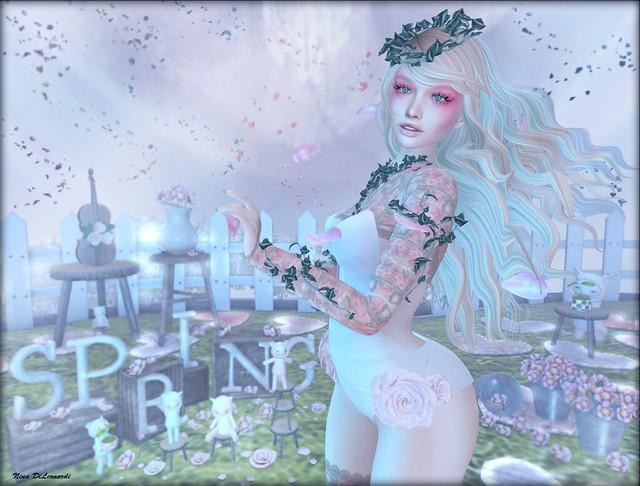 - Windy Spring Day -