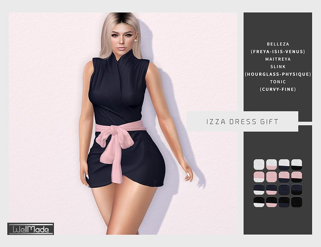 [WellMade] Izza Dress GIFT
