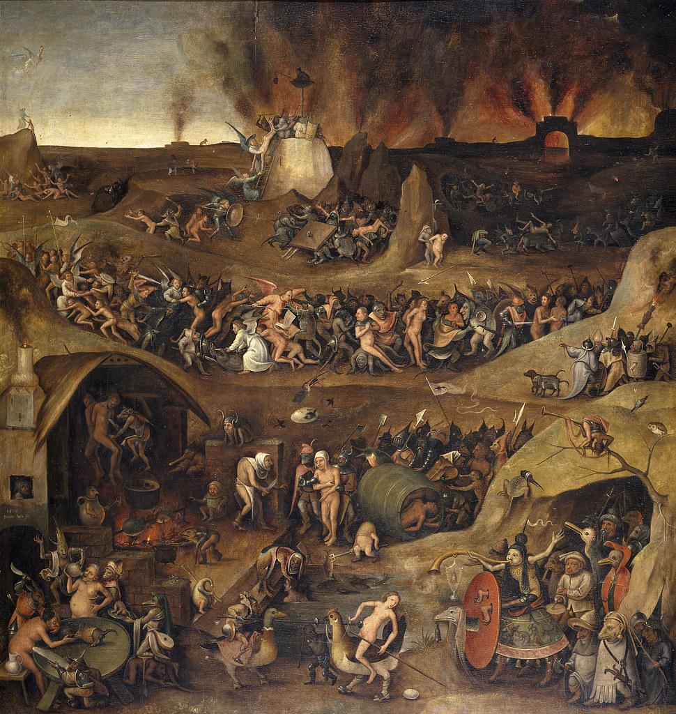 Pieter Huys - Inferno, 1570
