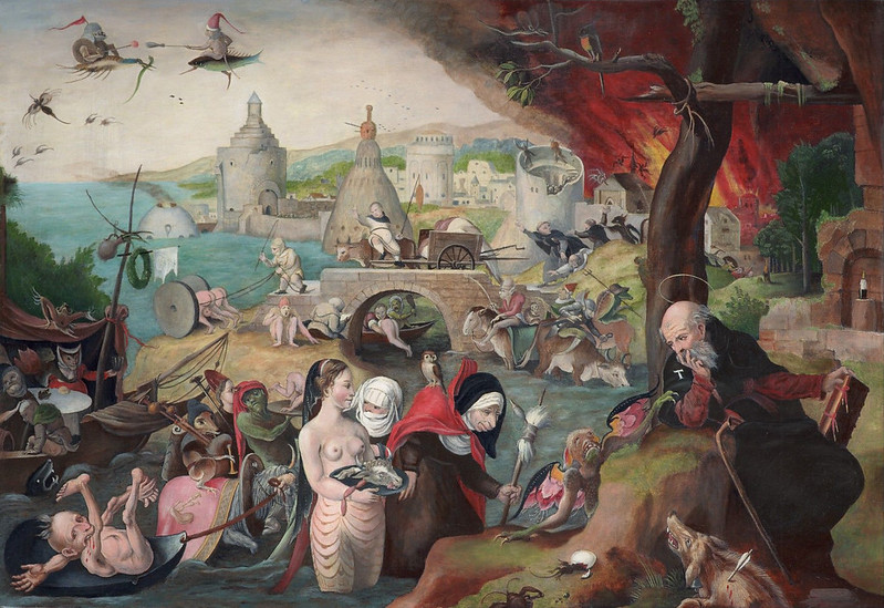 Pieter Huys - The Temptation of Saint Anthony, 1547