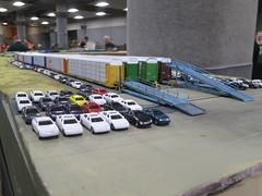 Autorack yard