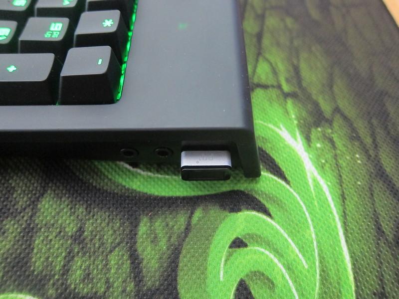 PQI My Lockey USB Fingerprint Reader - Plugged-in - Side