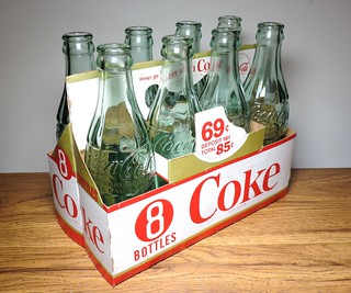 1940's New York Coke Bottles