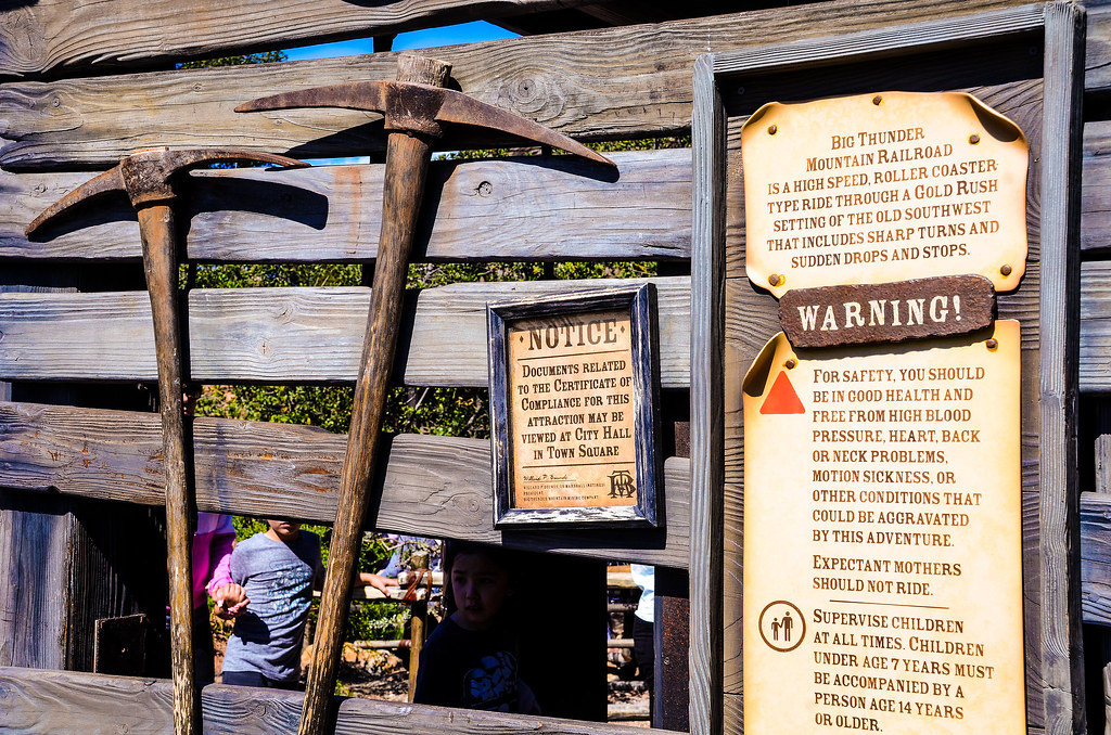 Big Thunder Entrance Axes