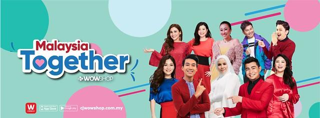 Malaysia Together  - Cj Wow Shop Header