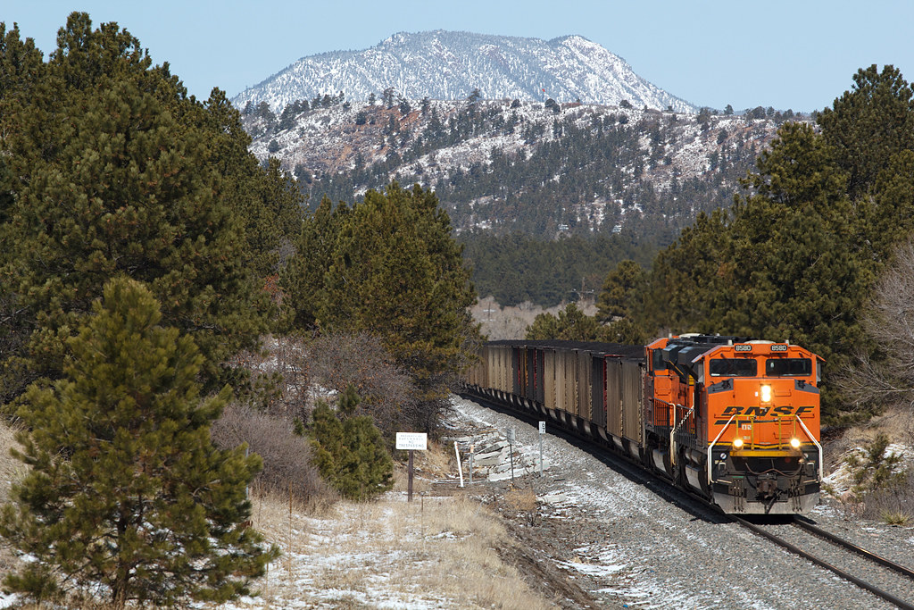 BNSF 8580 Colorado Springs 21 Mar 20
