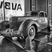 Auburn Cord Duesenberg Automobile Museum 04-28-2019 53 - 1936 Cord 810 Sedan BW HDR