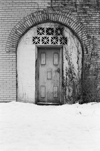 A Door On De Lanaudière St