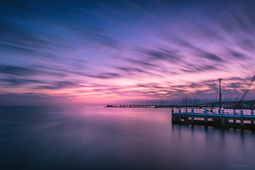 geelongwaterfront geelongcity coriobay geelong morning sunrise pastel longexposure nisi 1424mm nikond810 jetty autumn clouds filters