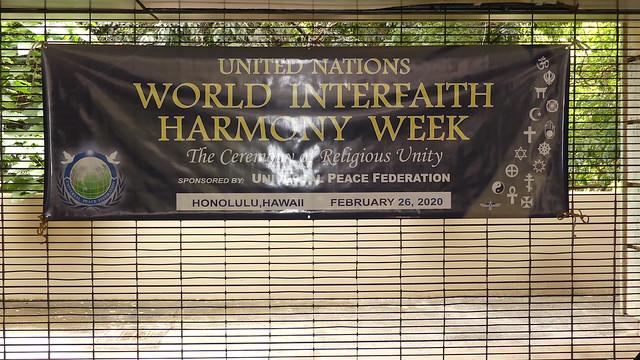 Hawaii-2020-02-26-UPF-Hawaii Hosts Third Annual UN World Interfaith Harmony Week