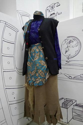 Женский карнавальный костюм Баба Яга