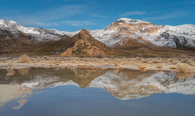 Snow Capped Reflections
