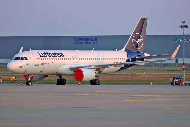 Airbus A320-214(WL) - D-AIWE - HAJ - 26.03.2020