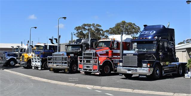 Geelong Truckshow Lineup