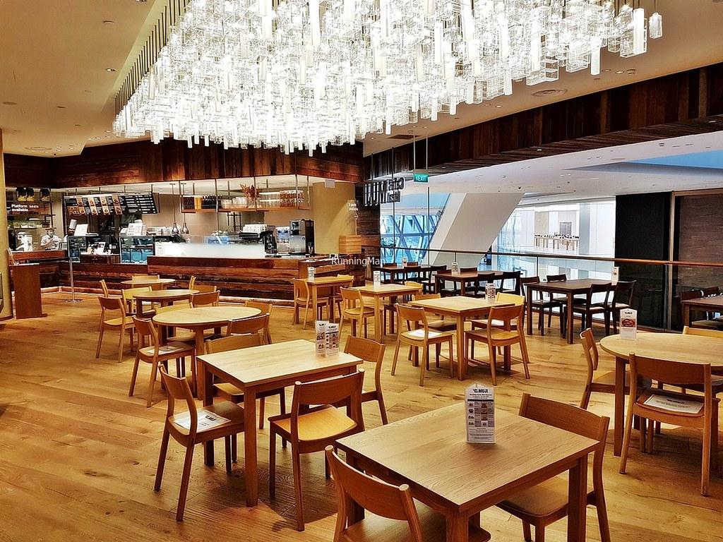 Muji Cafe Interior
