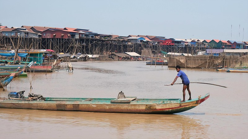 Tonle Sap, CAMBODIA, February 2020