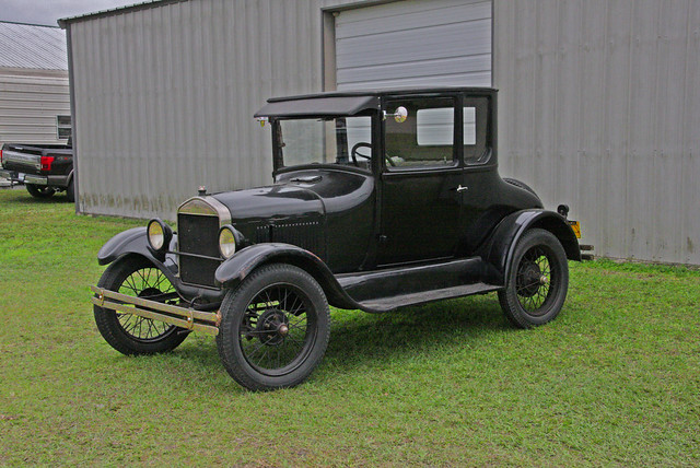 Ford Model-T, used for the Put Together Demonstration Show