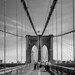 Brooklyn Bridge, monochrome