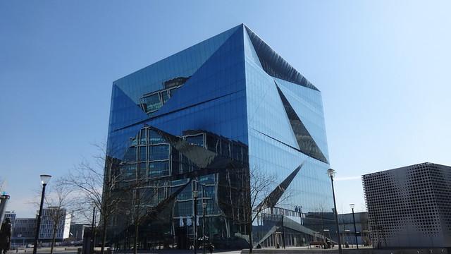 2017/20 Berlin cube berlin Bürogebäude 10Et. von 3XN aus Kopenhagen Washingtonplatz in 10557 Moabit