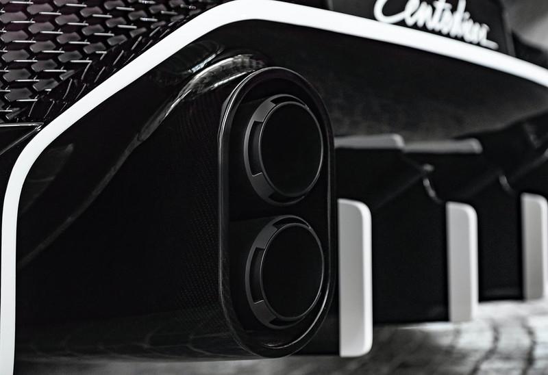 Bugatti-Centodieci-exhaust-detail