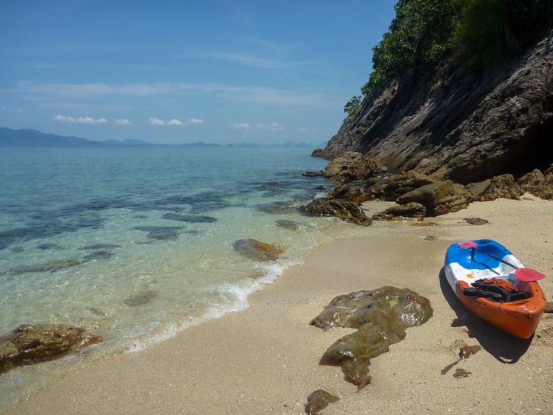 Beach cove break