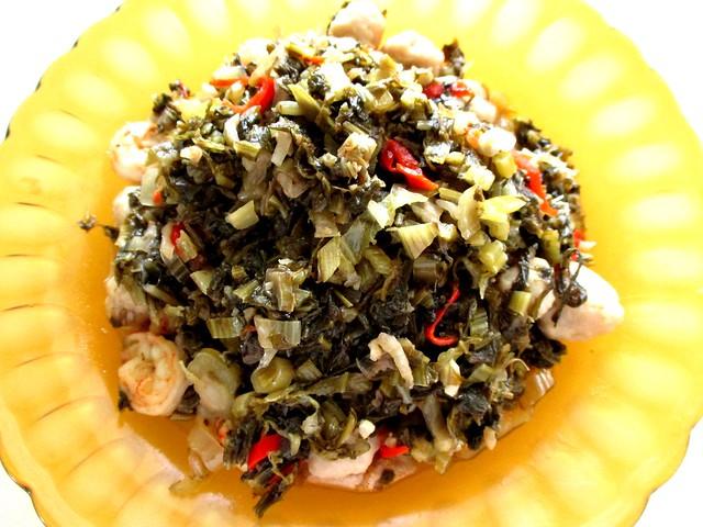 Seafood salted vegetables