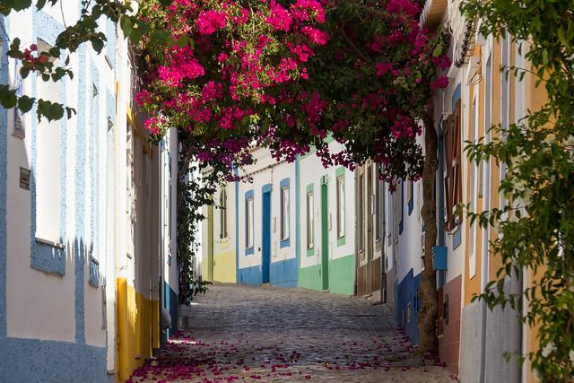 Portugal - Ferragudo - Rua Doutor Luiz Antonio dos Santos