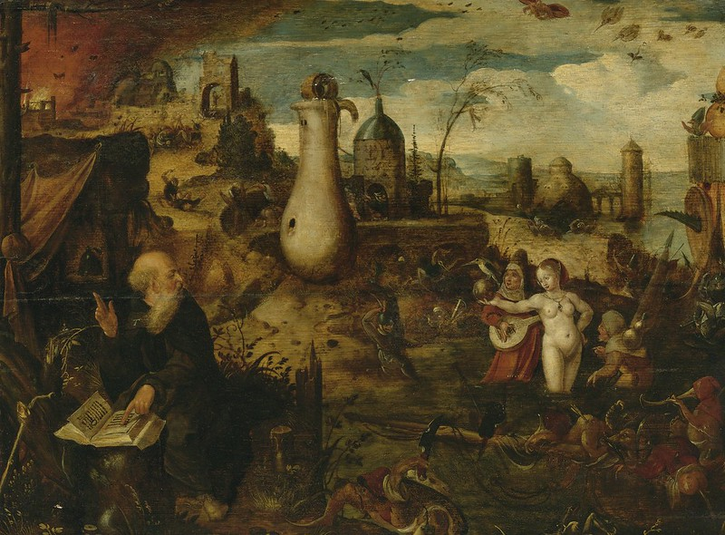 Pieter Huys - The Temptation of Saint Anthony, Circa 1520 - 1584