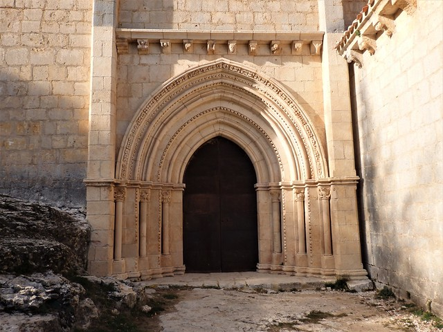 Portal ermita Cañón Río Lobos - Soria