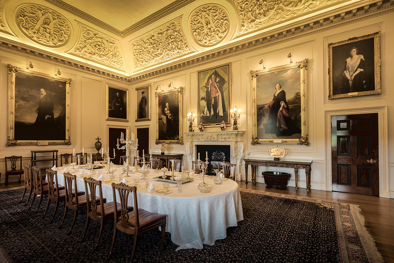 Harewood House State Dining Room