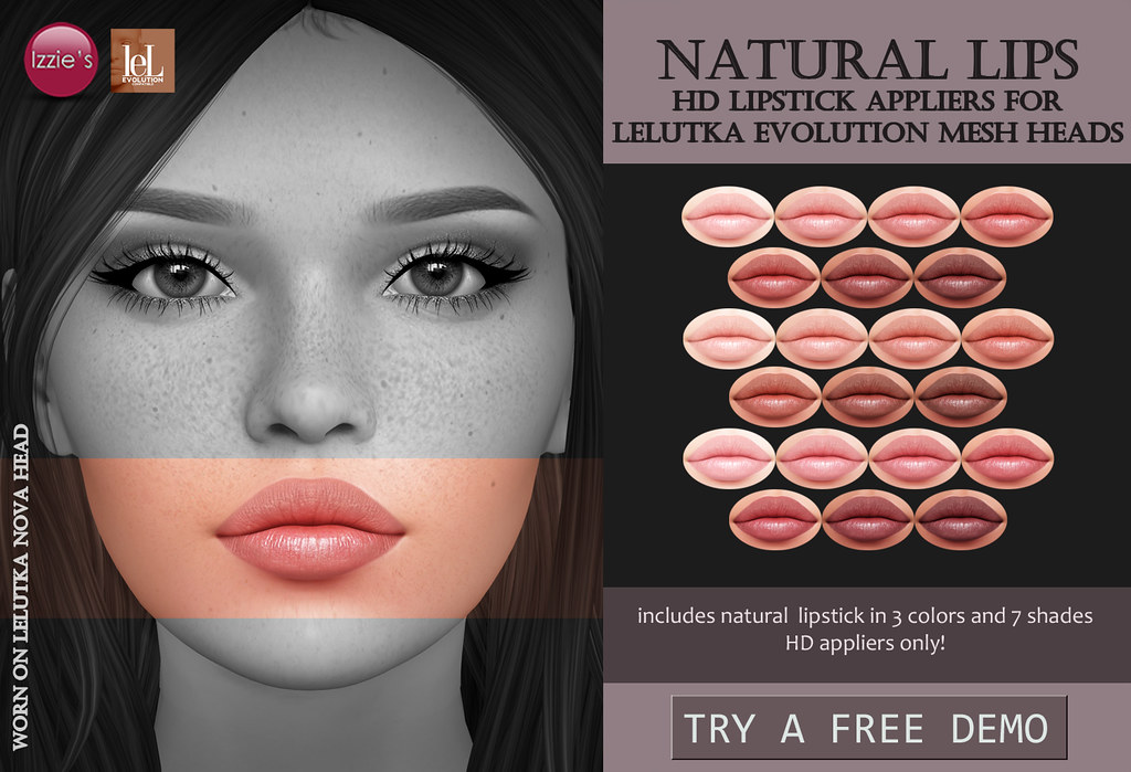 Natural Lips (LeLutka Evolution HD)