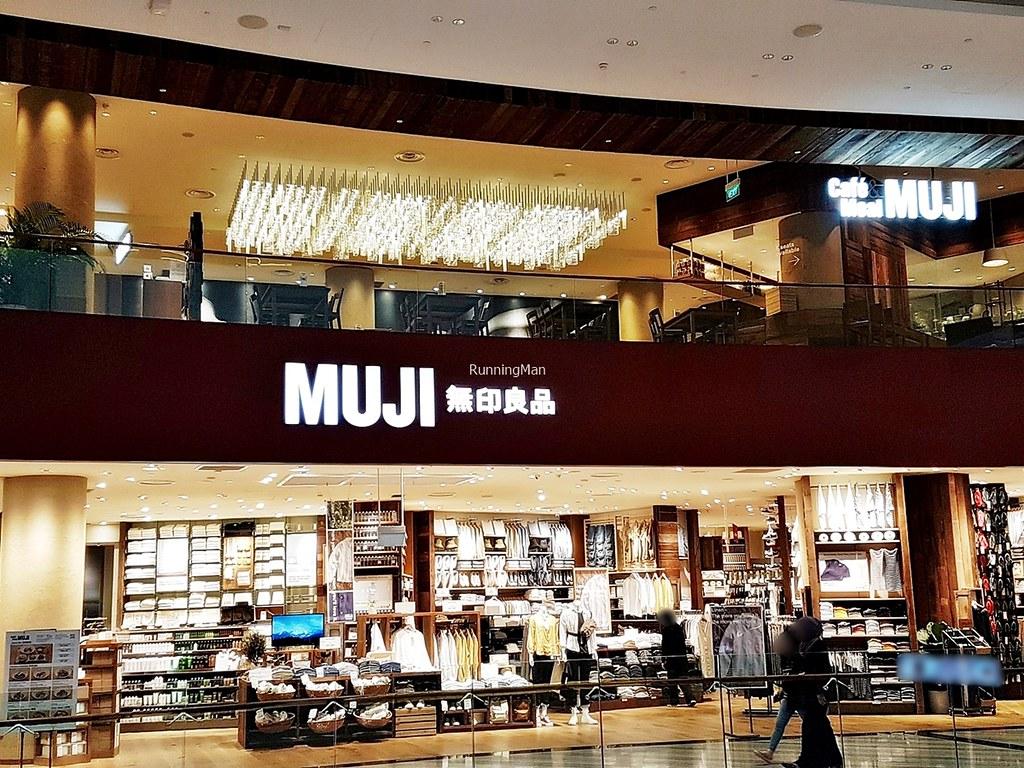 Muji Cafe Exterior
