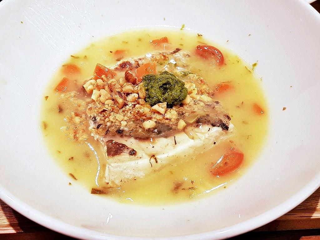 Barramundi, Petite Vegetable And Celery Pesto