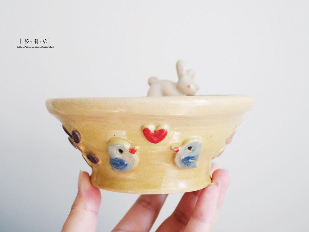 鶯歌老街手拉坯DIY價格價錢茶壺上色燒製親子玩樂推薦 (6)